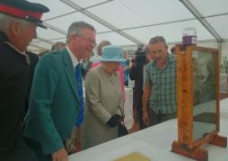 Royal visit at Turriff Show, 2014