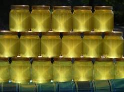 Honey jars (Photo: Ian Mackley)