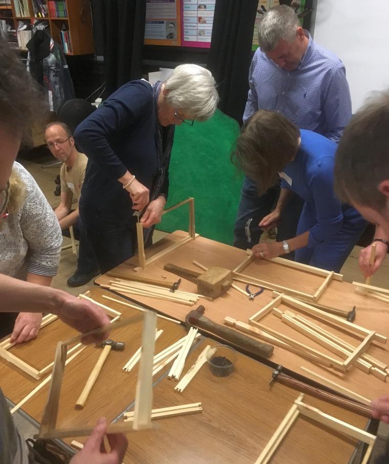 Frame-making workshop